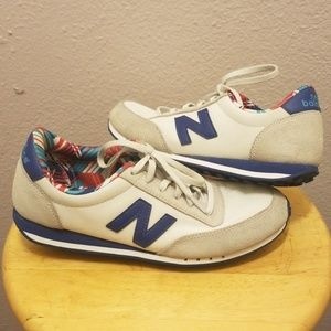 New Balance 410 sued and cloth running shoes